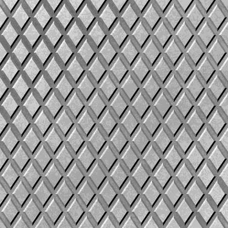 tread plate: A Gray Metal Background with Diamond Pattern