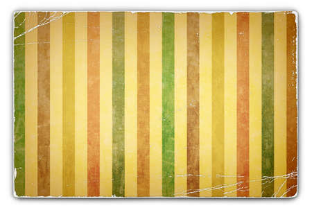 deteriorated: An Antique, Vintage, Grunge, Card, Paper Background with Stripe Pattern