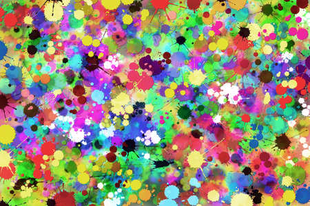 messy: A Messy Grunge Paint Splat Background