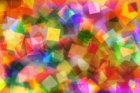 colorful background: A Colorful Abstract Background with Transparent Squares