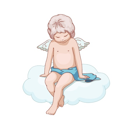 godlike: Little angel on the cloud