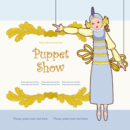 puppet show: Theatre poster