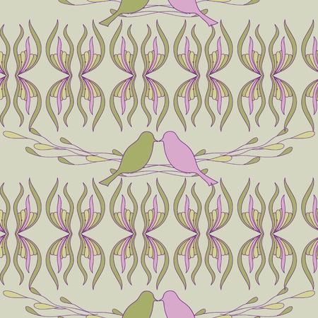 Abstract  design with bird Stock Vector - 21261490