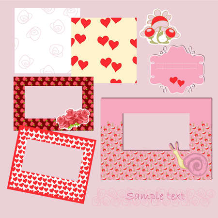 Frames with pattern Vector