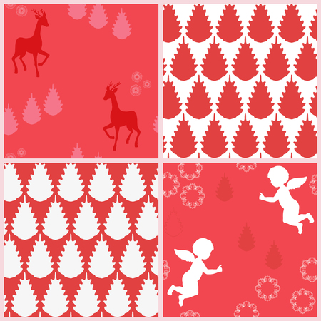 Background for xmas Vector
