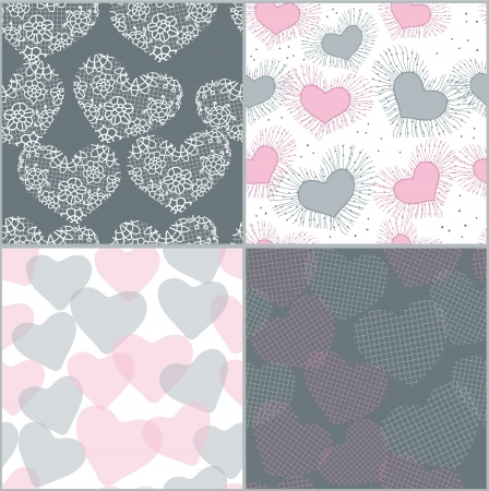 Seamless for Valentine day Illustration