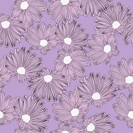 violet background: Fiori viola e sfondo viola Vettoriali