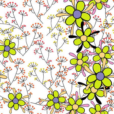 champ de fleurs: Fleurs des champs