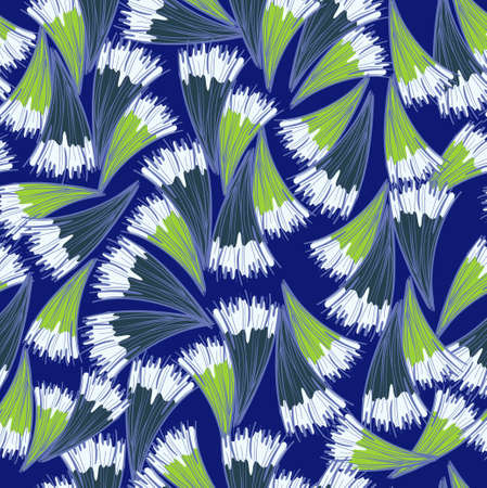 deep blue: Deep blue pattern Illustration
