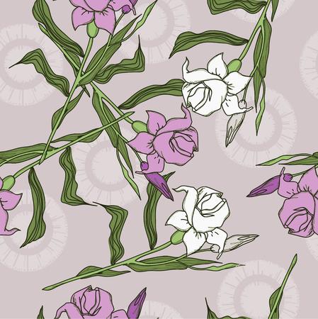 long stem: Summer flowers on long stem