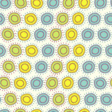 Floral simple pattern