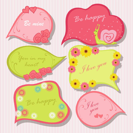 Cheerful bright frame Vector