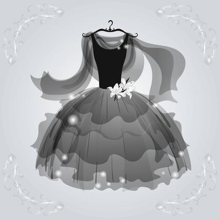 aerate: Vestito arioso nero per ballare partito