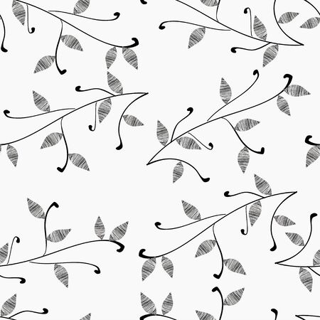 Monochrome simple pattern