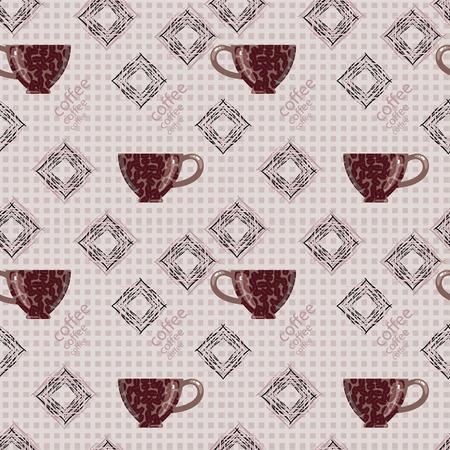 nourishing: Cup of coffee on seamless