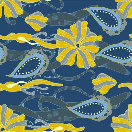 deep blue: Deep blue abstract pattern