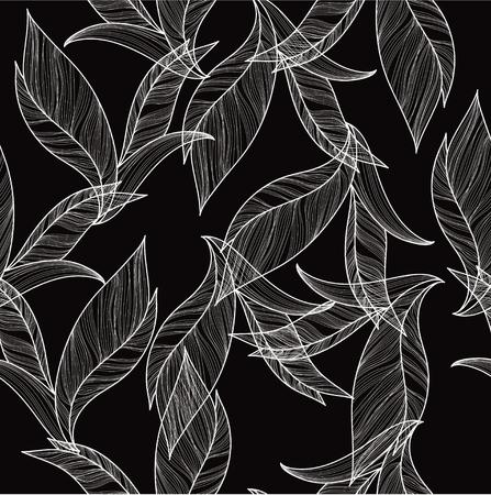 deep: Deep floral seamless for textile Illustration