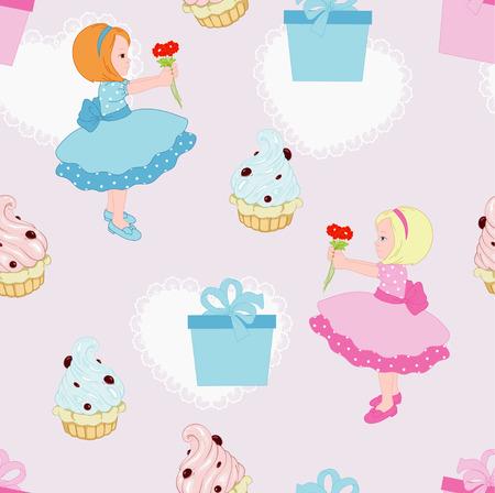 Present from girl for  birthday Banco de Imagens - 44475426