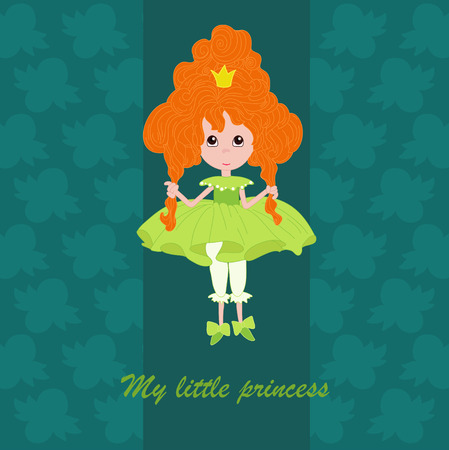 Princess with red hair