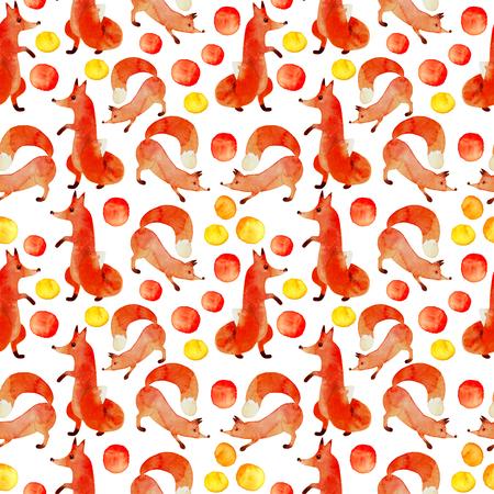 reds: Reds fox on white background