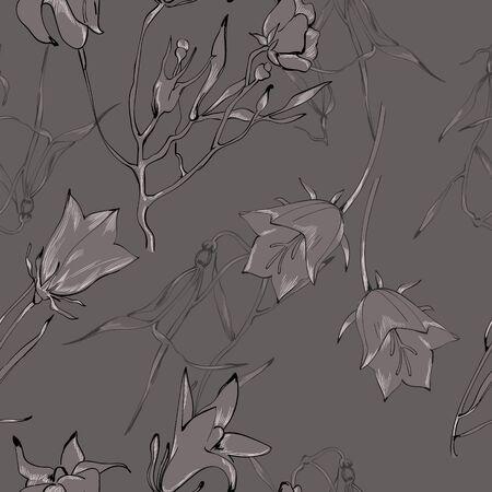 gray pattern: Monochrome gray pattern for seamless