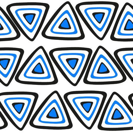 Triangle on white background Illustration