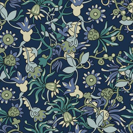 Floral pattern for textile