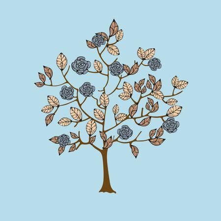fairy tree: Drawing of fairy tree