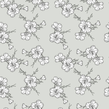 Soft gray pattern for cloth Illustration