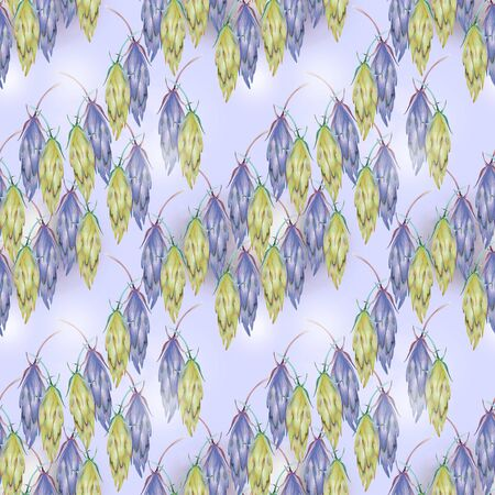 Soft blue pattern for paper and textile