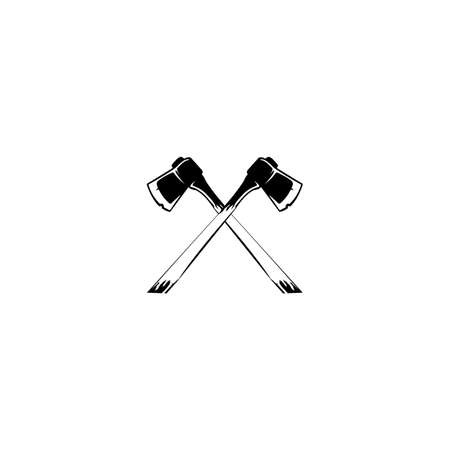 ax icon. Element of construction tools for mobile concept and web apps. 向量圖像