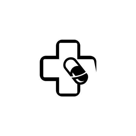 medical vector logo. drugstore logo,vector logo template