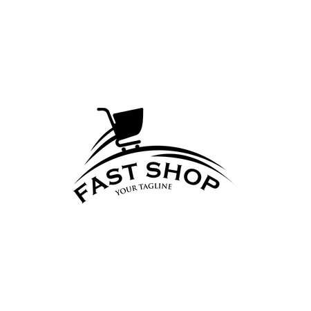 Shopping Logo. Template logo for the shopping center.