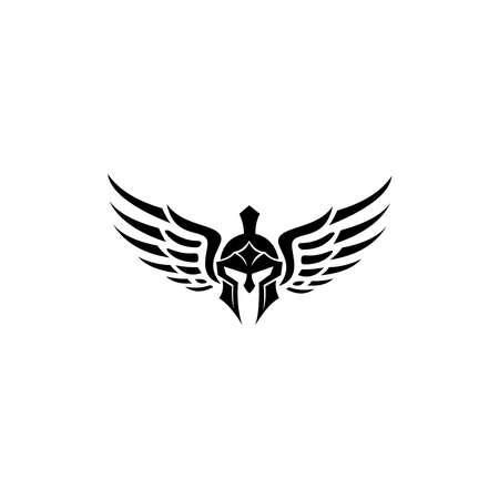 Spartan Helmet silhouette, Warrior symbol, Spartan , Spartan helmet, Spartan symbol.