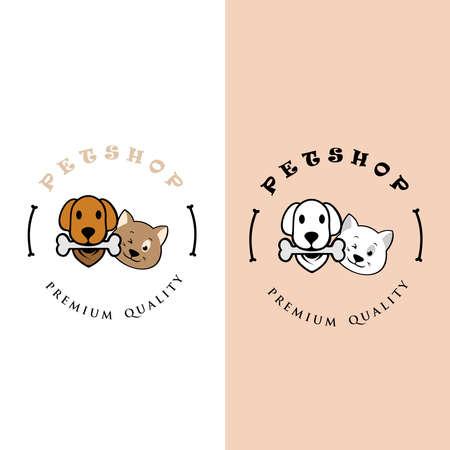 PetShop . can use animal clinics, petshop and veterinarian. 向量圖像