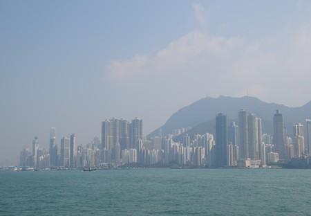 A view of Hong Kong