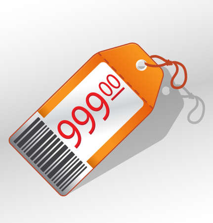 bargain price: Vector price label