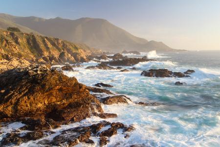 Big Sur near Monterey, California, USA Stock Photo