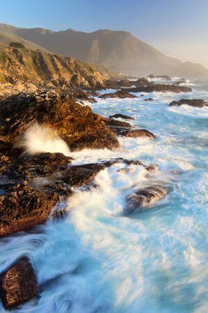 Waves at Big Sur, Garrapata State Park, near Monterey, California, USA