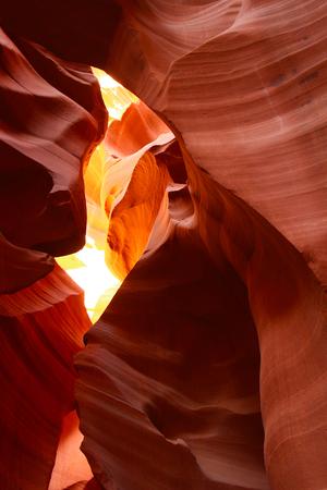 Abstract sandstone rock, Antelope Canyon, Page, Utah, USA