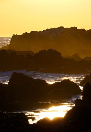 ビッグサー海岸、中央カリフォルニア、アメリカ合衆国