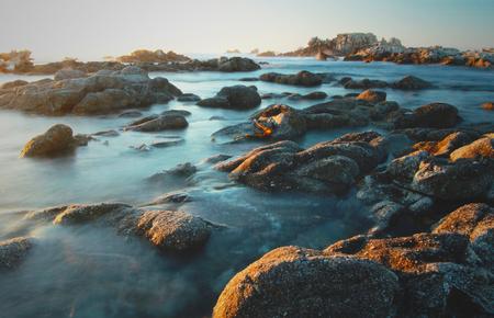 Monterey coastline, Asilomar State Beach, Pacific Grove, Pacific Ocean, California, USA