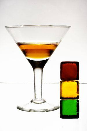 alcohol drink traffic light warning Stock Photo - 1744185