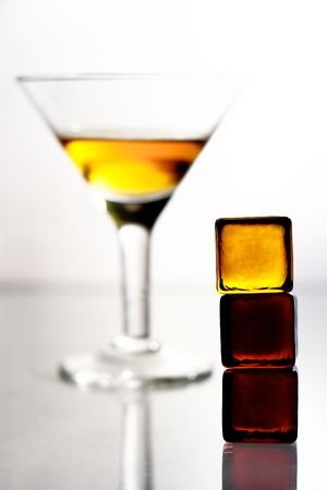 alcohol glass warning symbol martini Stock Photo - 1744189