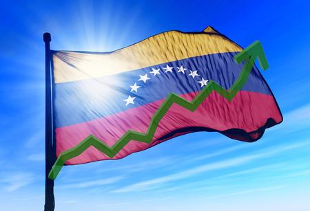 venezuela flag: Los mercados de valores de Venezuela plantean y ganar dinero