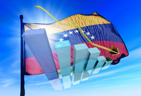 sell shares: Venezuela stock markets go down, drop, and loose money