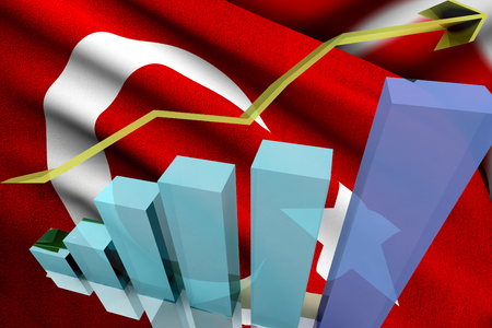 rise: Turkish markets go up and gain money