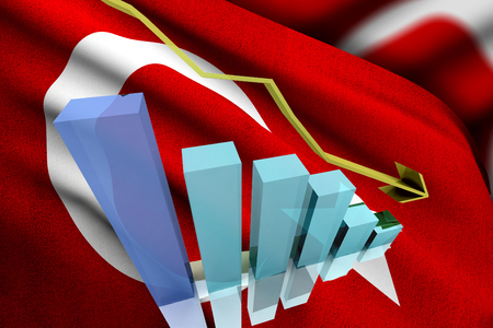 sell shares: Turkish markets go down and lose money