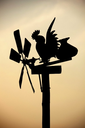 chicken windmill