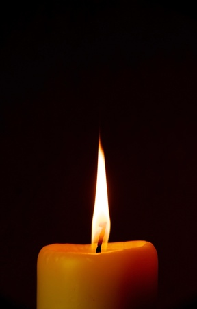 ambiance: A candle in the dark
